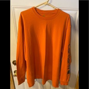Men's Carhartt T-Shirt Long Sleeve X Large